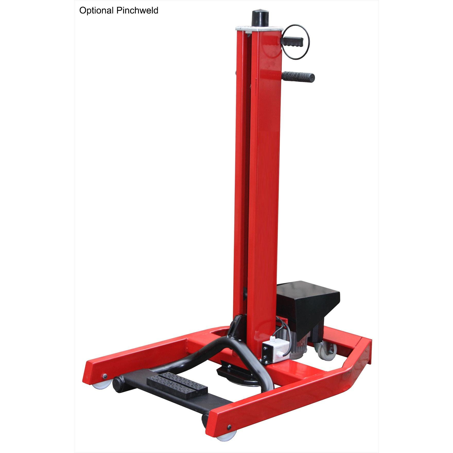Hoffman Mini Portable Single Post Lift