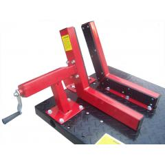 Redline Motorcycle Lift Table Wheel Vise
