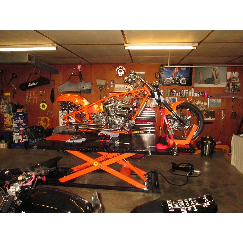 Redline 1500HD Motorcycle ATV Lift Table