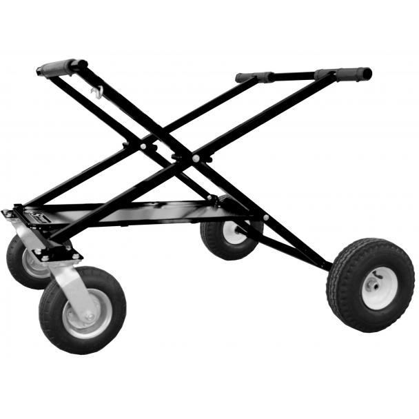 Streeter Shorty Big Foot Rolling Go Kart Stand w Tray