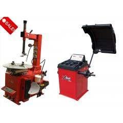 Titan Tire Changer/Wheel Balancer Combo