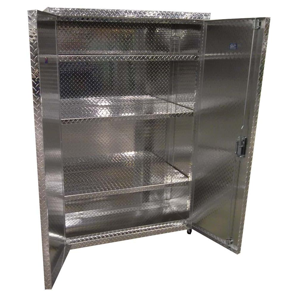 Pit Products 72 Storage Cabinet With Wheels Free Shipping