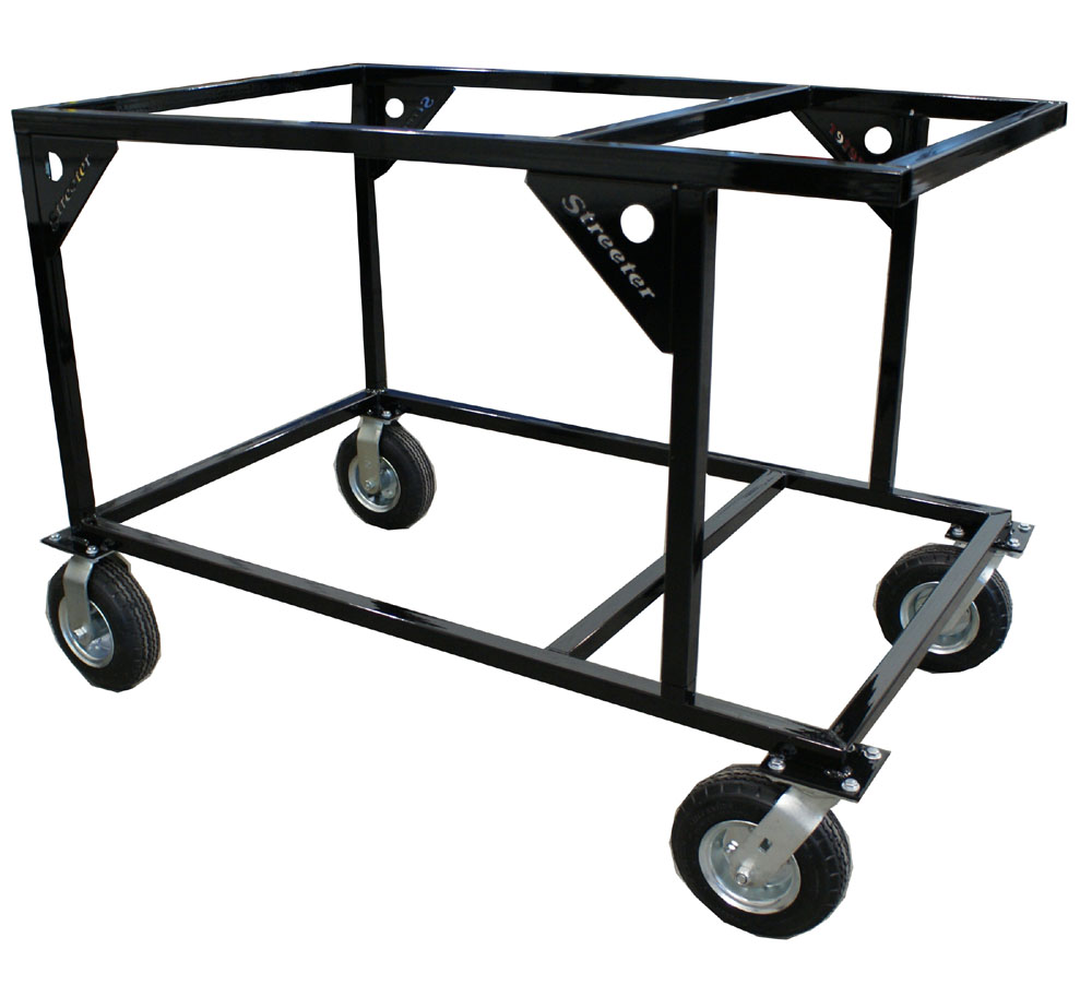 Streeter Sprint Double Stack Rolling Kart Stand - FREE SHIPPING