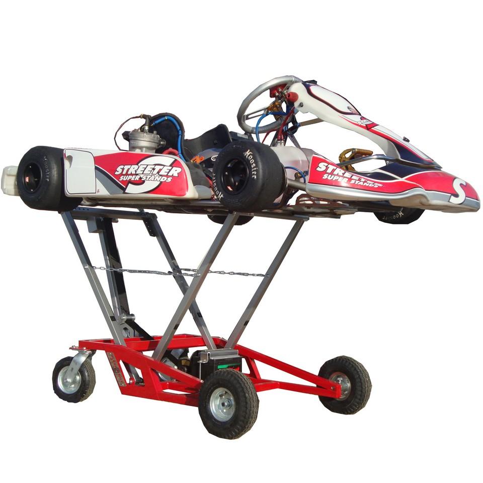 Streeter Electric Super Lift Racing Go Kart Stand Free
