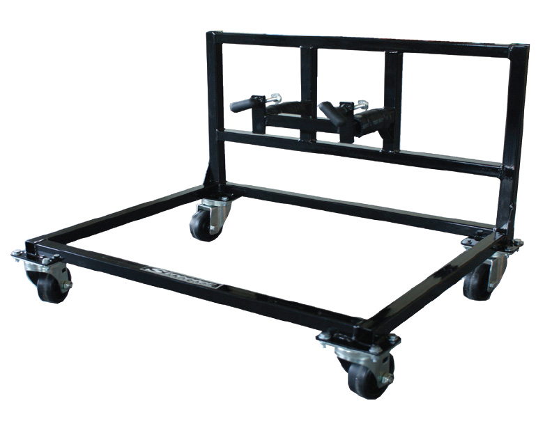 Streeter Oval Kart Upright Rolling Stand - FREE SHIPPING