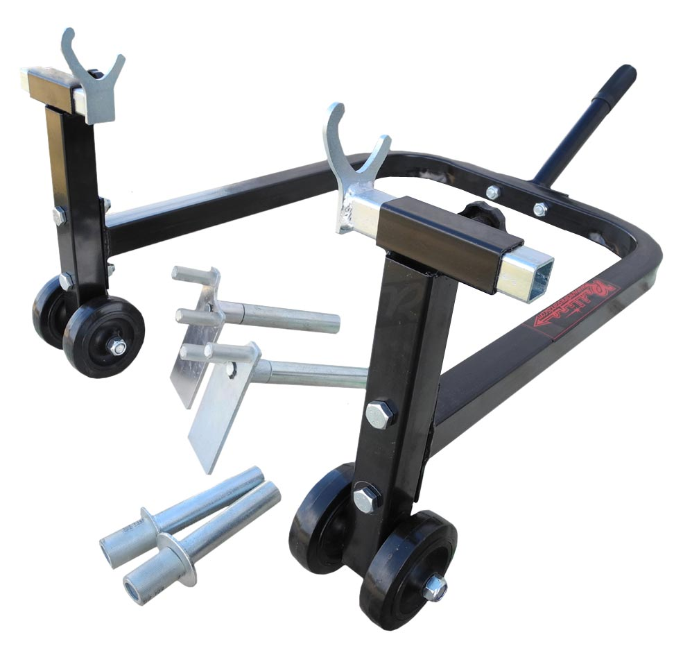 Swing Arm Stand : New redline sport bike motorcycle rear swingarm stand wide