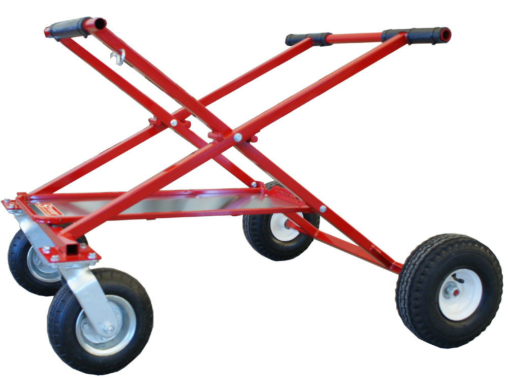 Streeter Shorty Big Foot Rolling Go Kart Stand w Tray SHIPS FREE