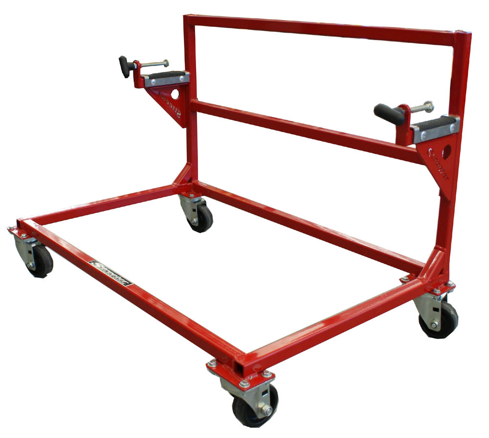 Streeter Sprint Upright Rolling Kart Stand - FREE SHIPPING