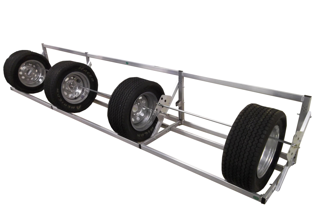 Pit Products 12 Ft Deluxe Universal Tire Rack Free Shipping