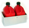 Pit Posse Double Fuel Jug Holder