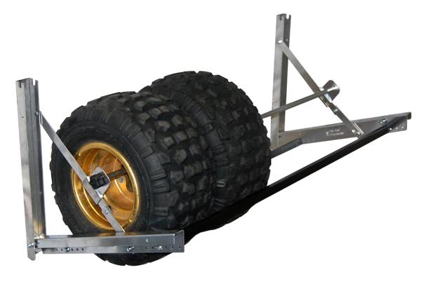 pit pal 61 atv tire storage rack free shipping. Black Bedroom Furniture Sets. Home Design Ideas