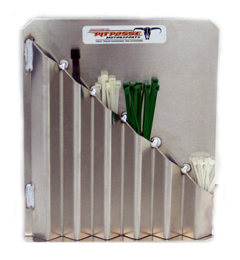 pit posse zip and cable tie rack free shipping. Black Bedroom Furniture Sets. Home Design Ideas