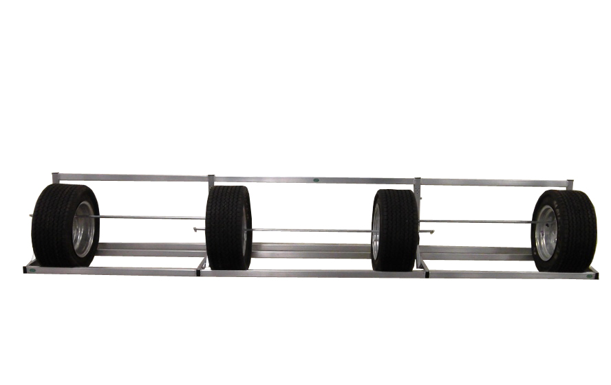Pit Products 9 12 14 Ft Deluxe Universal Trailer Tire Rack
