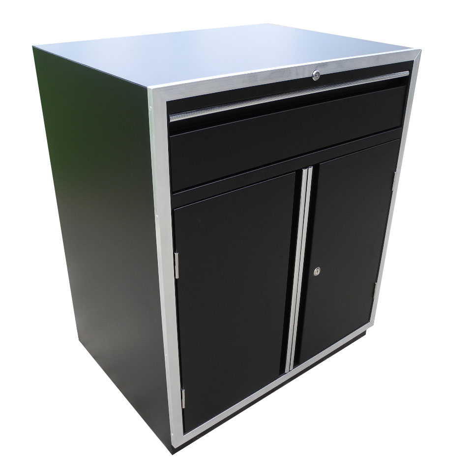 Redline Elite Series Base 2 Door Cabinet With Drawer