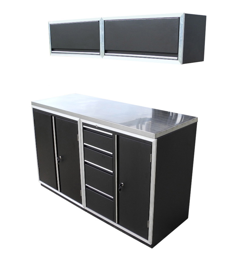 Redline 64 Base And Overhead Cabinet Combo Free Shipping