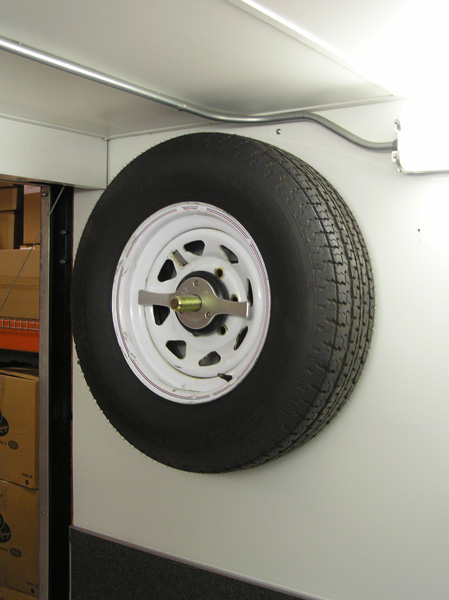 Pit Pal Spin On Spare Tire Mount Free Shipping