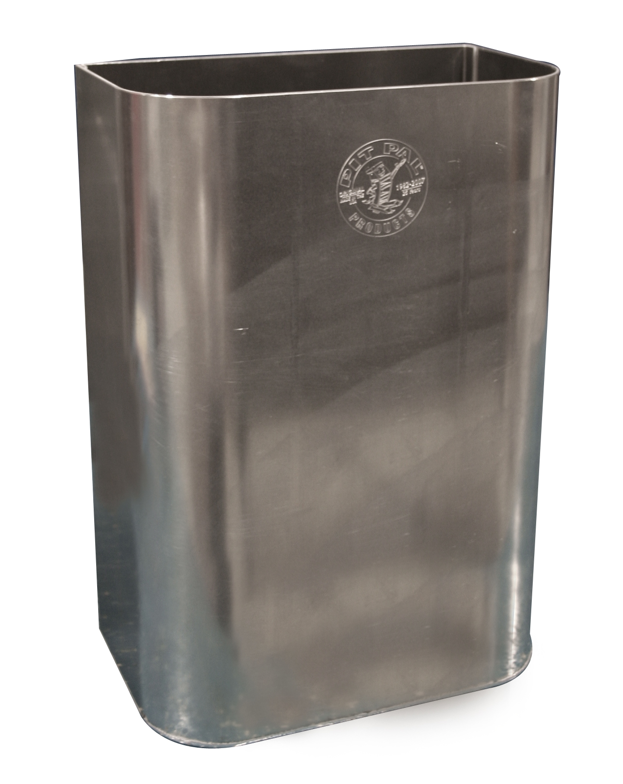 Aluminium Garbage Cans : Pit pal aluminum trash can free shipping