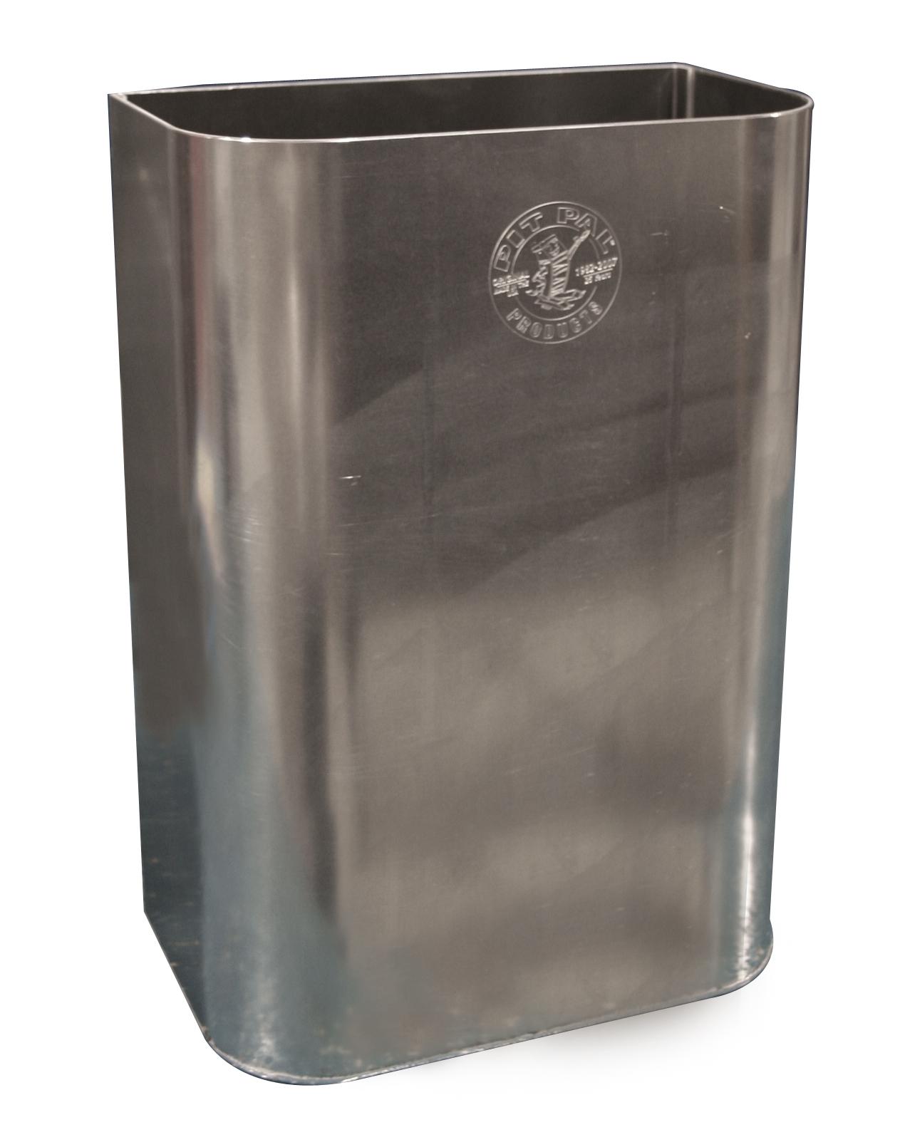 Aluminum Trash Cans : Pit pal aluminum trash can free shipping